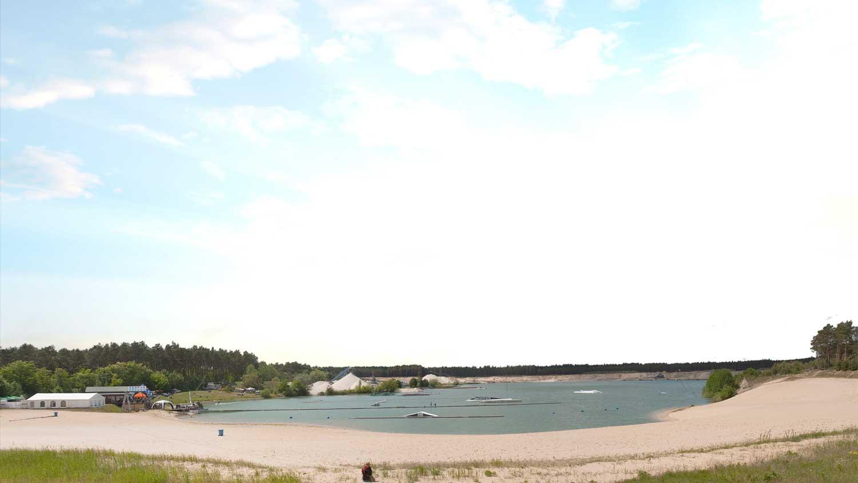 Außenanlage Wasserskipark Zossen