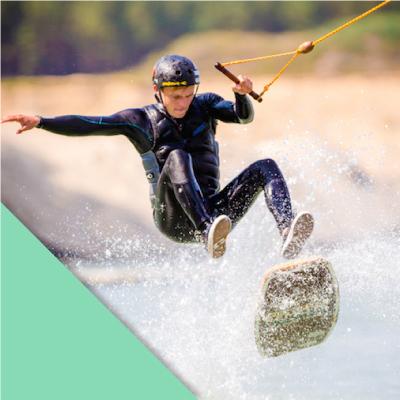Wakeboard fahren in Berlin und Brandenburg im Wasserskipark Zossen